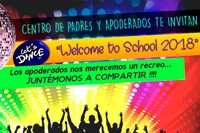 "Centro General de Padres y Apoderados invita a fiesta ""Welcome to School 2018"""