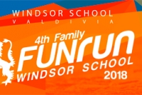 Inscripciones abiertas para 4TH FAMILY FUN RUN Windsor School 2018